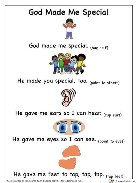 God Made Me Worksheet by Alljoinin Net God Made Me