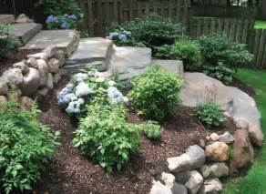 sloping backyard landscaping ideas backyard landscaping pictures of sloped backyard