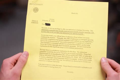 College Rescind Acceptance Letter New Trier News College Admission On The Line For Lazy Seniors