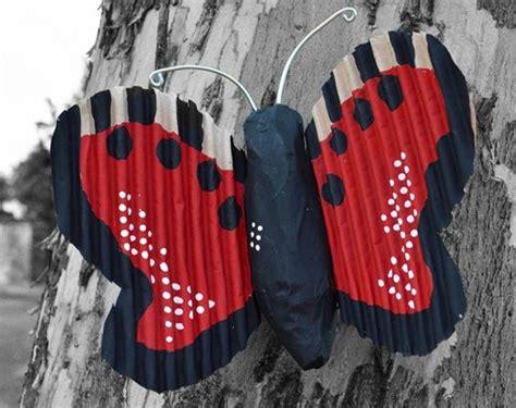 Lu Bentuk Kupu Kupu Bekas kupu kupu dari koran dan kardus bekas tutorial kesekolah