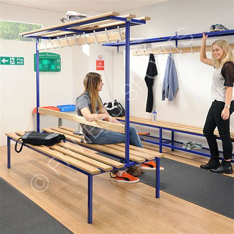 changing bench wooden floor fixed cloakroom changing benches fitness
