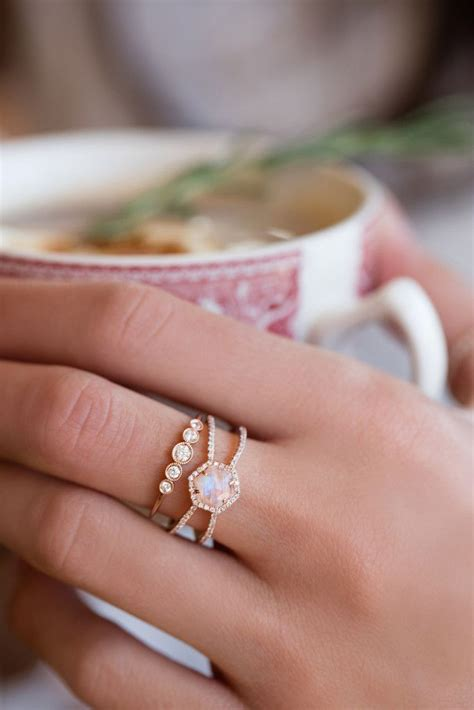 Puzzle Piece Engagement Ring   Engagement Ring USA
