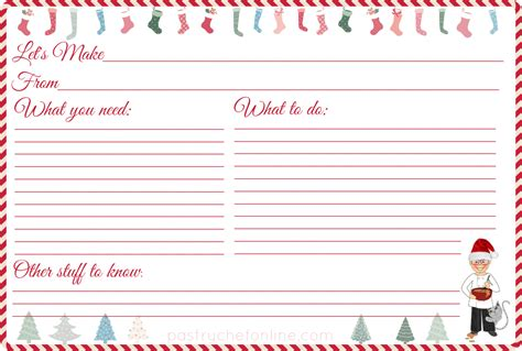 free recipe card templates to type on i made these free printable recipe cards for you