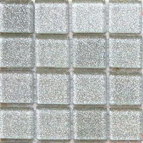 Tile Bordir Glitter mosaic tiles glass glitter silver bathroom kitchen walls
