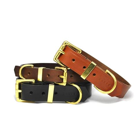 classic leather collar by annrees notonthehighstreet