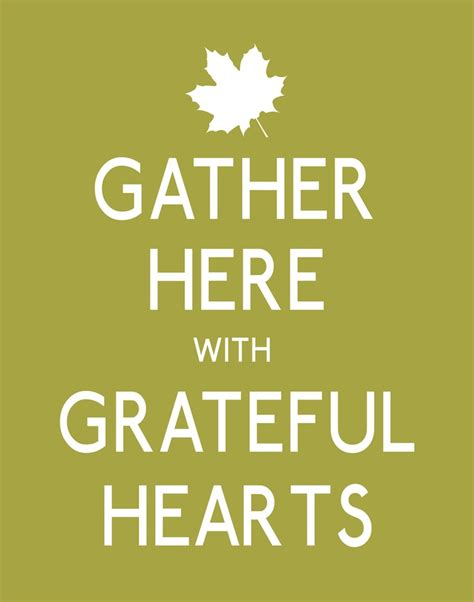thanksgiving poster print gather here with grateful
