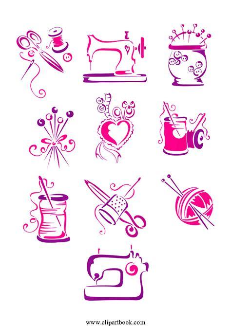 clothes design logo vector textiles clipart 22