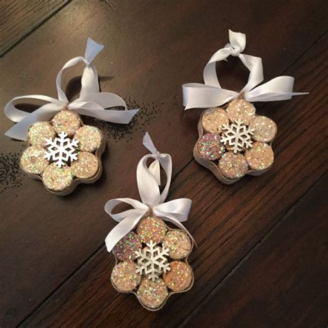 amazing diy wine cork ornaments ideas  christmas