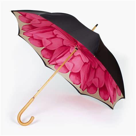 Flower Design Umbrellas   deluge high quality umbrella with vibrant pink flower
