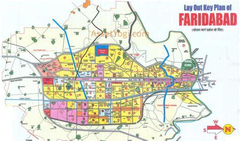 hmda layout download faridabad master plan 2031 map summary free download