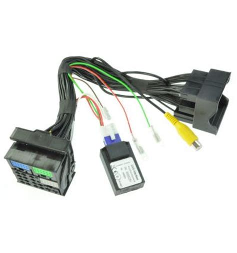 reverse camera input interface for vw composition media