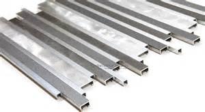 Brushed aluminum bars mosaic