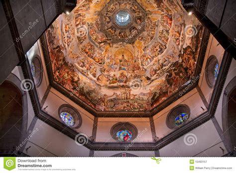 vasari s vasari fresco dome duomo florence italy royalty free stock