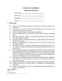 Venue Rental Agreement Template fillable online venue rental agreement the old mill fax