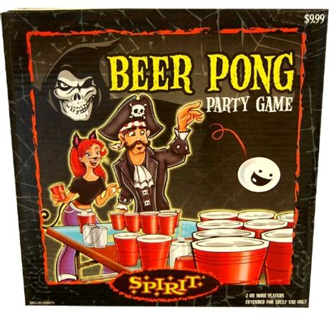 halloween drinking games halloween beer pong party game arts entertainment