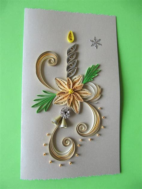 handmade christmas greeting card paper art christmas wishes merry christmas card holiday