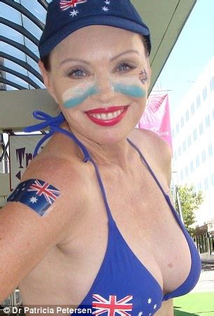 queensland election candidate patricia petersen wears