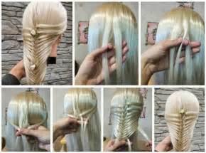 easiest type of diy hair braiding como hacer trenza esqueleto