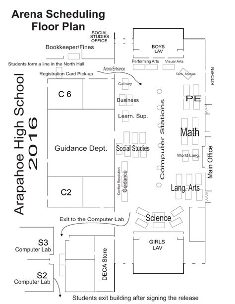 arena floor plan arena scheduling information littleton public schools
