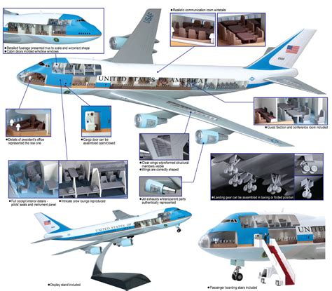 air force one layout interior サイバーホビー 1 144 vc 25 エア フォース ワン 内部再現キット ch14703 5 400円