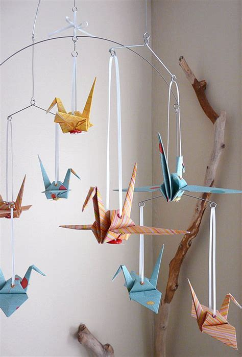 How To Make A Paper Mobile For Nursery - best 25 creative baby gifts ideas on