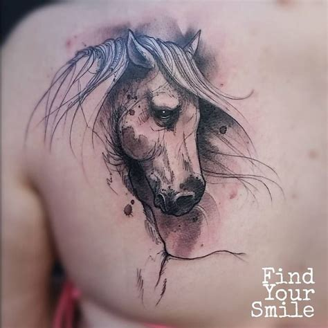 watercolor tattoo horse 695 best images about ideas on