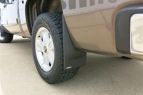 chevrolet silverado mud flaps weathertech