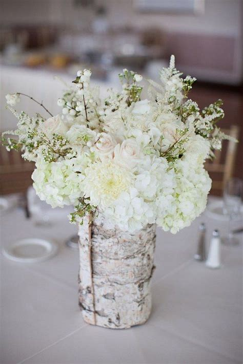 Birch Wedding Centerpieces 26 Ideas To Rock Your Winter Wedding With Birch Centerpieces