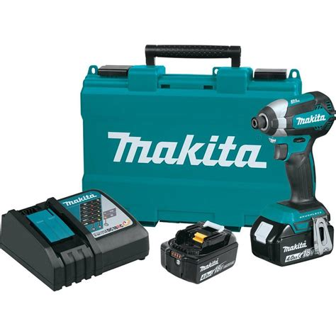 makita 18 volt 4 0ah lxt lithium ion brushless 1 4 in