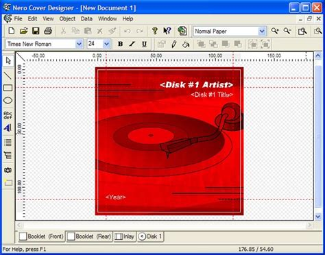 cover design nero download nero cover designer