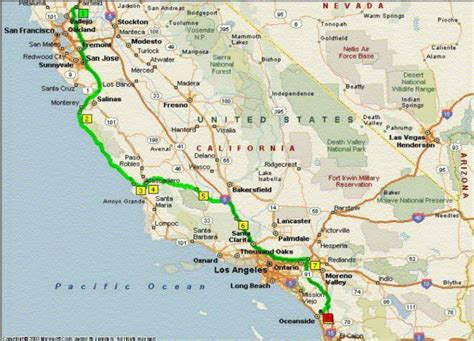 california map road pin california road map ca highway on