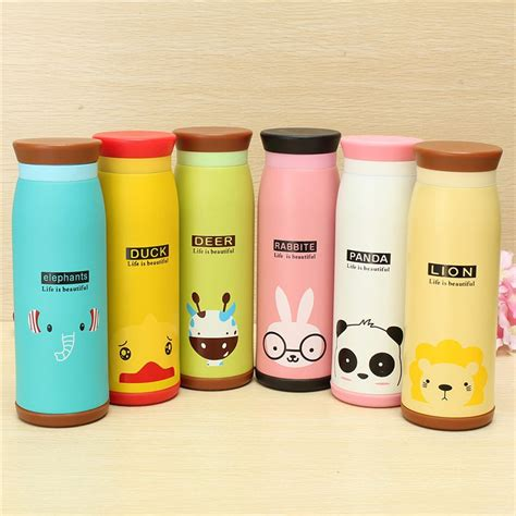 Bottle Minum Karakter Bottle Big Botol Beruang 500ml colourful thermos insulated mik water bottle 500ml yellow jakartanotebook