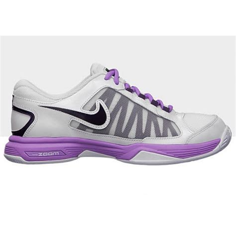 nike zoom courtlite 3 white purple s tennis shoes