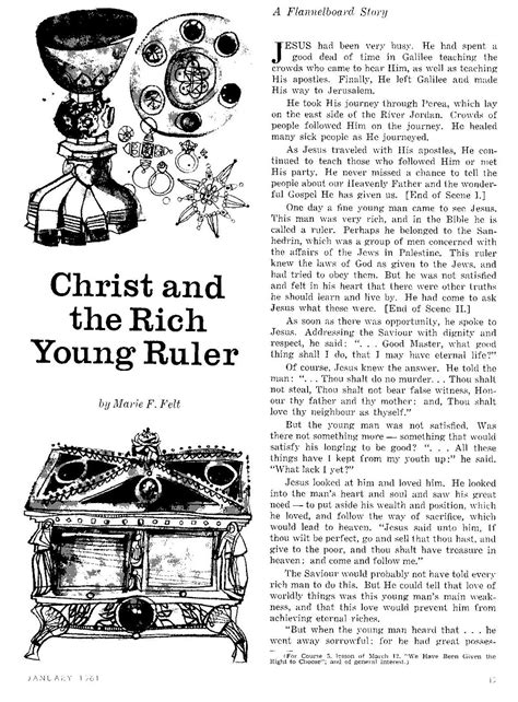 parable of the rich young man crafts
