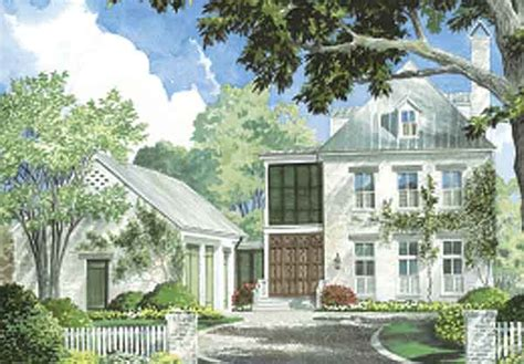 Lebatrie Court Ken Tate Architect Southern Living Ken Tate House Plans
