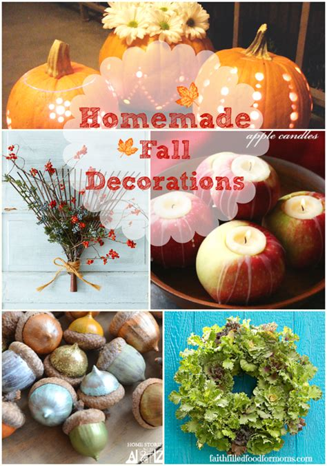 home made fall decorations fall decorations thumb png faith filled food