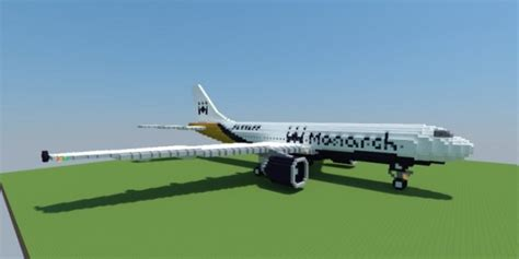 Airbus A300 600   Monarch Airlines ? Minecraft Building Inc