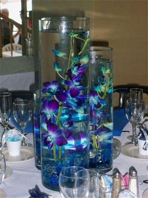 blue centerpieces 25 best ideas about blue orchid centerpieces on