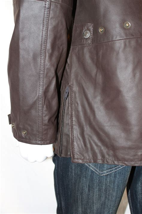 mens country style men s 3 4 country style nubuck leather jacket radford