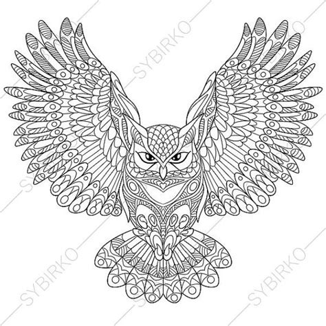 owl mandala coloring pages for adults owl coloring page animal coloring book pages for adults