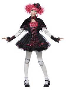 haunted doll halloween costume kids victorian doll tween girls costume 48 99 the