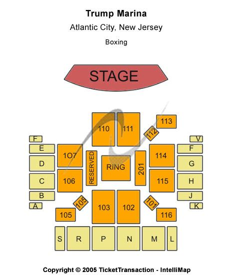 golden nugget seating chart atlantic city tickets 2017 tickets atlantic