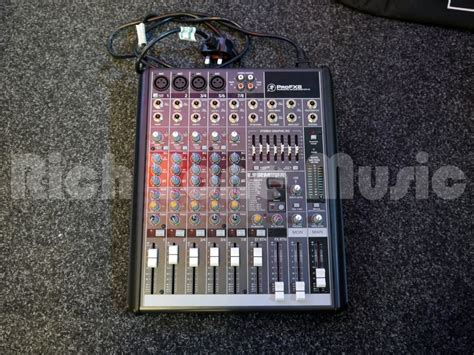 Mixer Mackie Second mackie pro fx 8 mixer 2nd rich tone