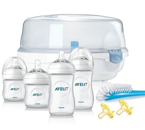 Avent Sterill Bottle philips avent bpa free essentials gift set baby feeding gift sets baby