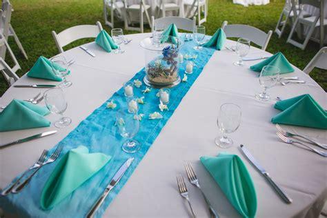 Decoration De Table Bleu Turquoise by D 233 Corations De Mariage Par Th 232 Mes