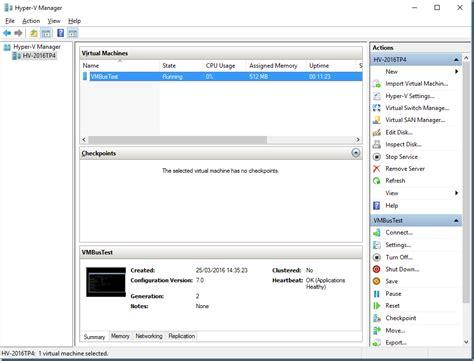 hyper v manager console powershell direct hyper v vmbus bytesizedalex