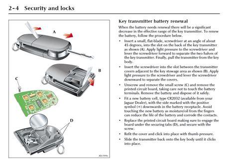 jaguar key fob battery battery change for key fob jaguar forums jaguar
