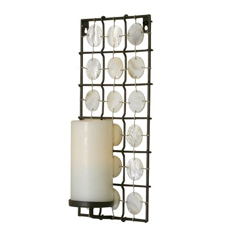Flameless Wall Sconces Wholesale Pacific Accents Equinox Sconce With Flameless Candle