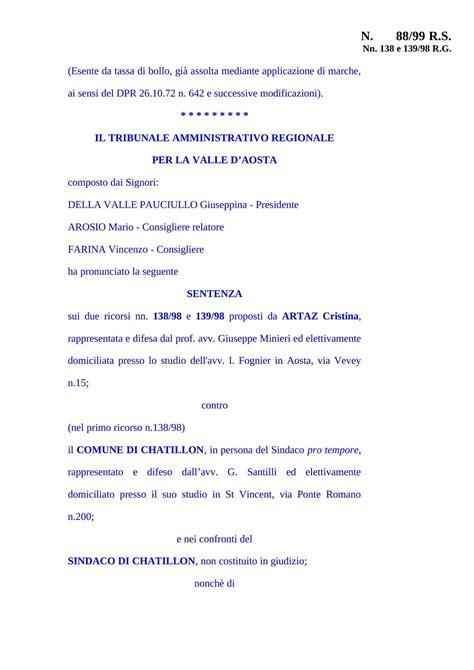 diritto degli enti locali dispense rapporti sindaco assessori tar 1999 dispense