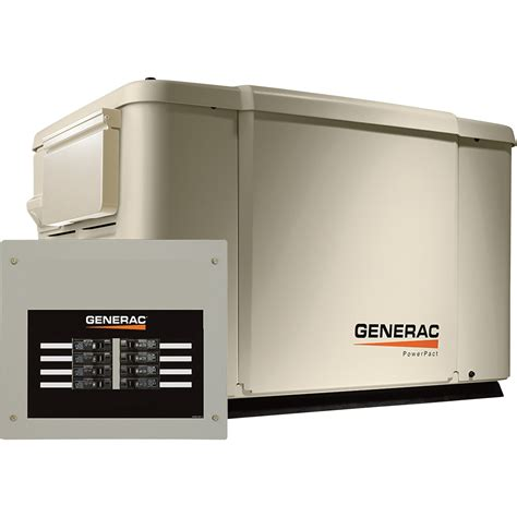 free shipping generac powerpact air cooled home standby